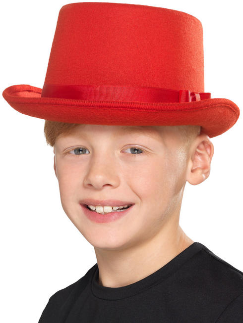 Child's Red Top Hat