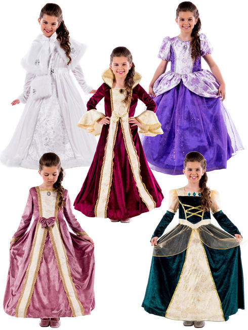 Girl's Royal Ball Gown Costume