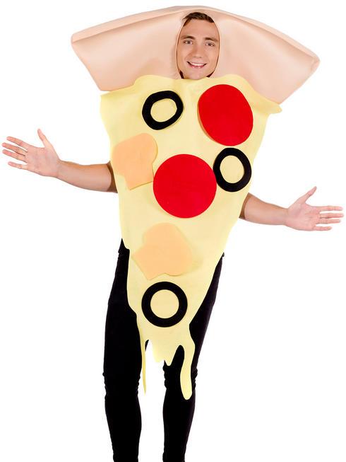 Adult's Pizza Slice Costume