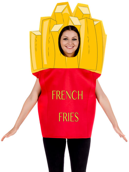 Adult's French Fries Costume