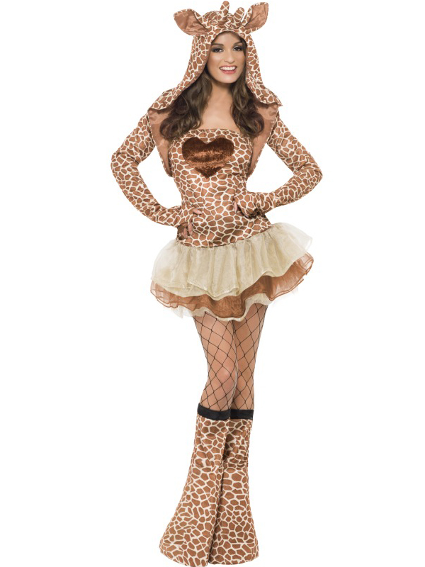 Ladies Fever Sexy Animal Fancy Dress Costumes Womens Hen -3108