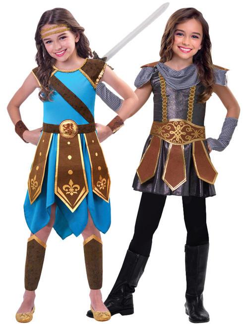 Girl's Warrior Cutie Costume