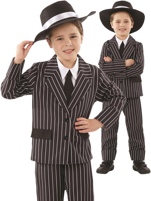 Boy's Little Gangster Costume