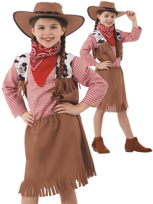 Girl's Cowgirl Costume