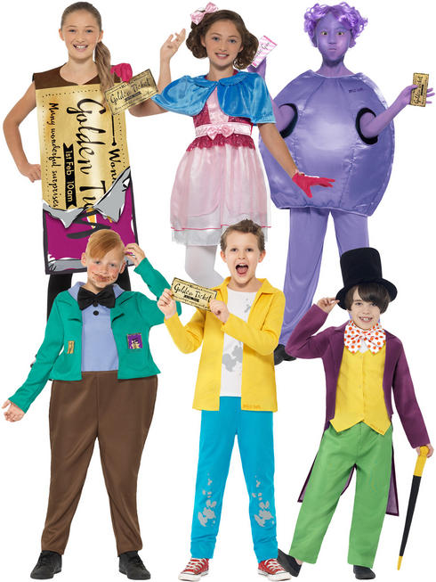 Child's Roald Dahl Charlie Chocolate Factory Costume