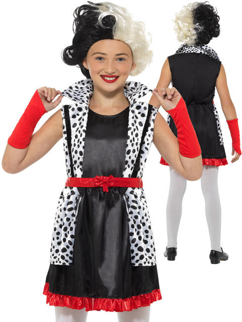 Girl's Evil Little Madame Costume
