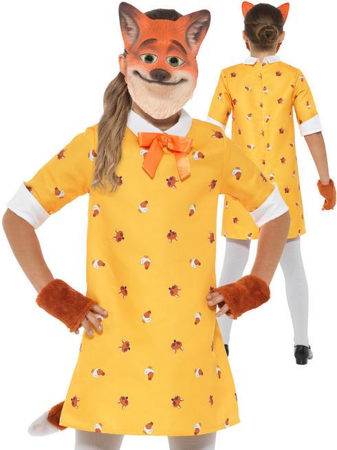 Girl's Miss Fox Costume