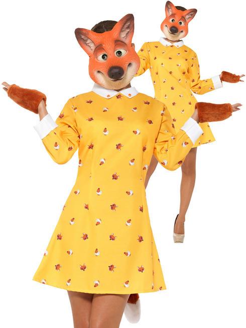 Ladies Lady Fox Costume