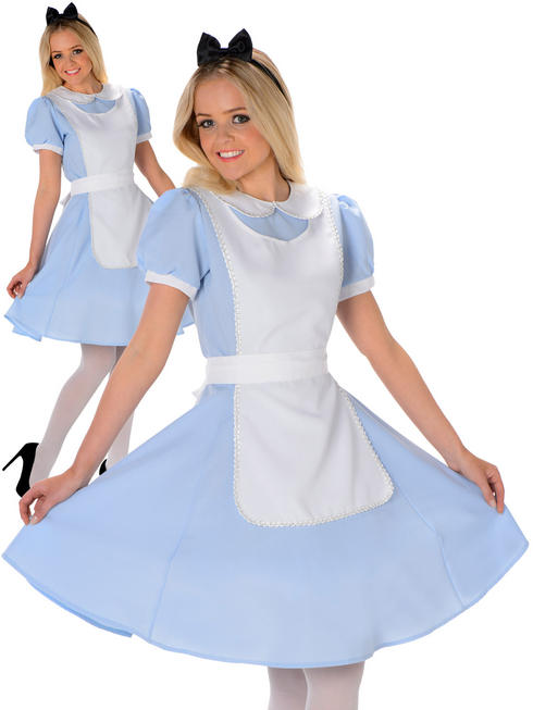 Ladies Fairytale Alice Costume