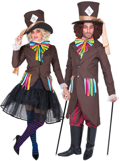 Ladies / Men's Mad Hatter Girl Costume