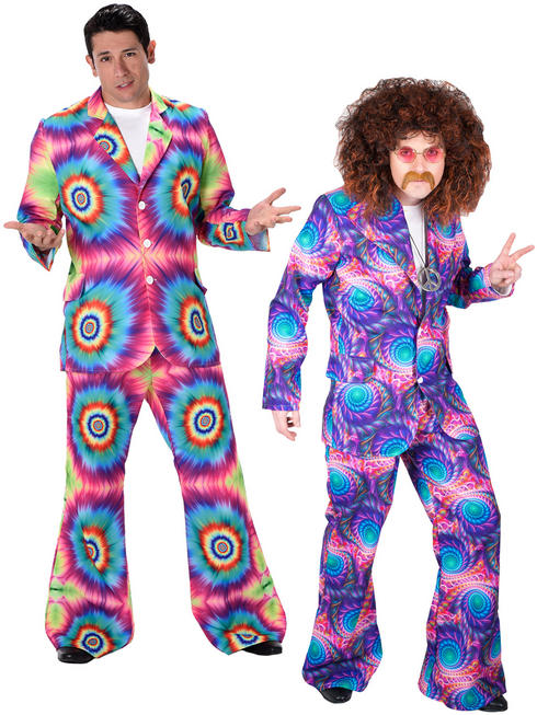 Men's Tye Dye / Boho Suit Costume