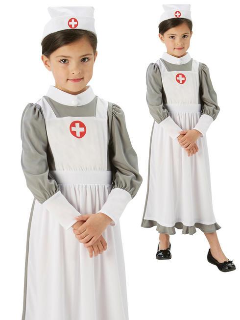 Girl's WW1 Nurse Costume