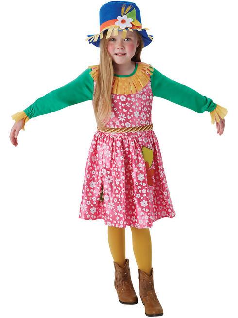 Girl's Mrs. Scarecrow Costume
