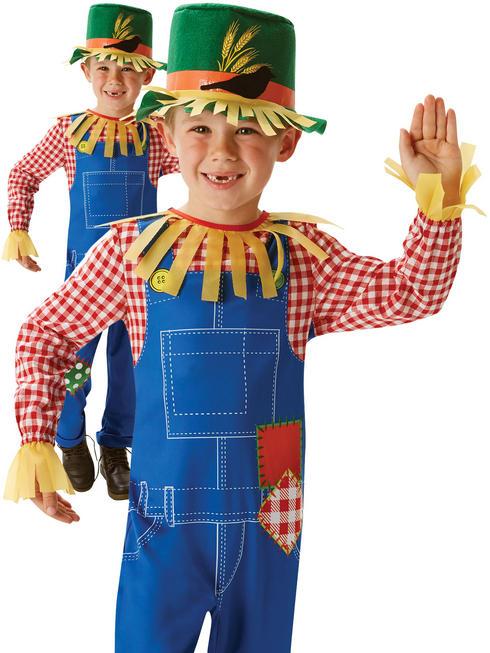 Boy's Mr. Scarecrow Costume