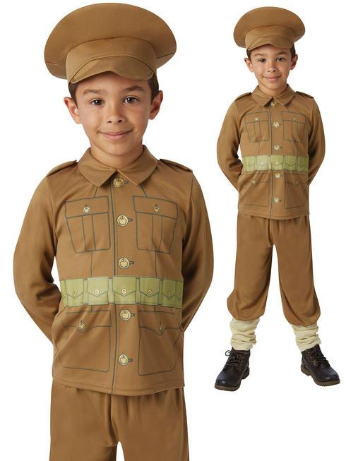Boy's WW1 Soldier Costume