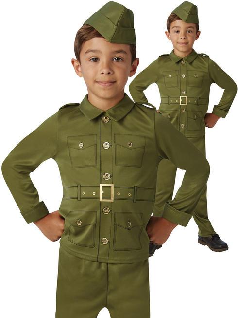 Boy's Pilot Soldier Costume