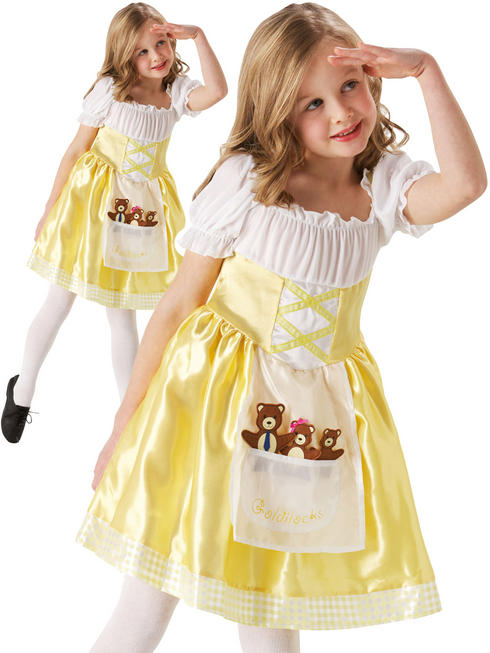 Girl's Goldilocks Costume