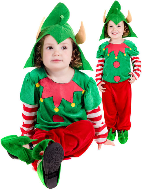 Child's Toddler Elf Costume