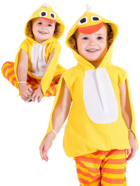 Child's Toddler Chick Costume