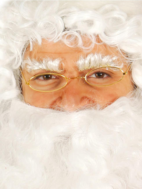 Adult's Santa Claus Glasses