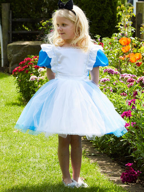 Girl's Travis Blue Alice Costume