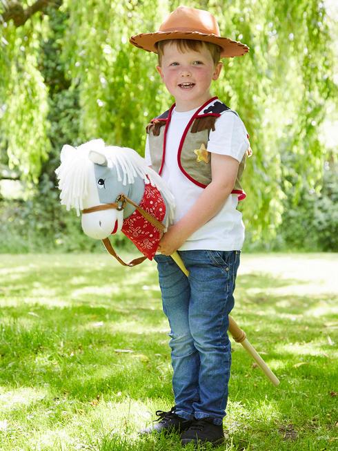 Child's Travis Cowboy Hobby Horse