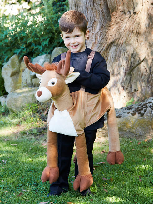 Child's Ride-On Reindeer Costume