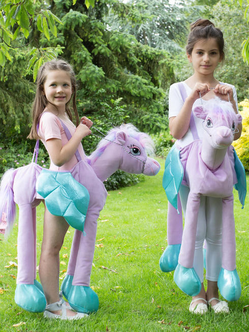 Child's Ride-On Fairy Tale Pony Costume