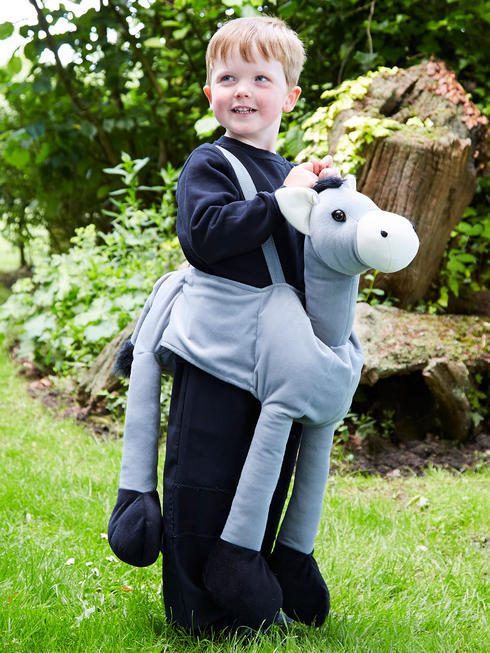Child's Ride-On Donkey Costume