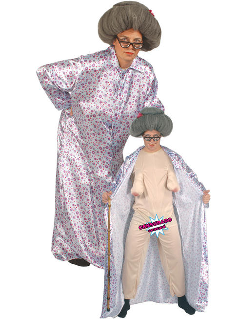 Adult's Sexy Granny Costume