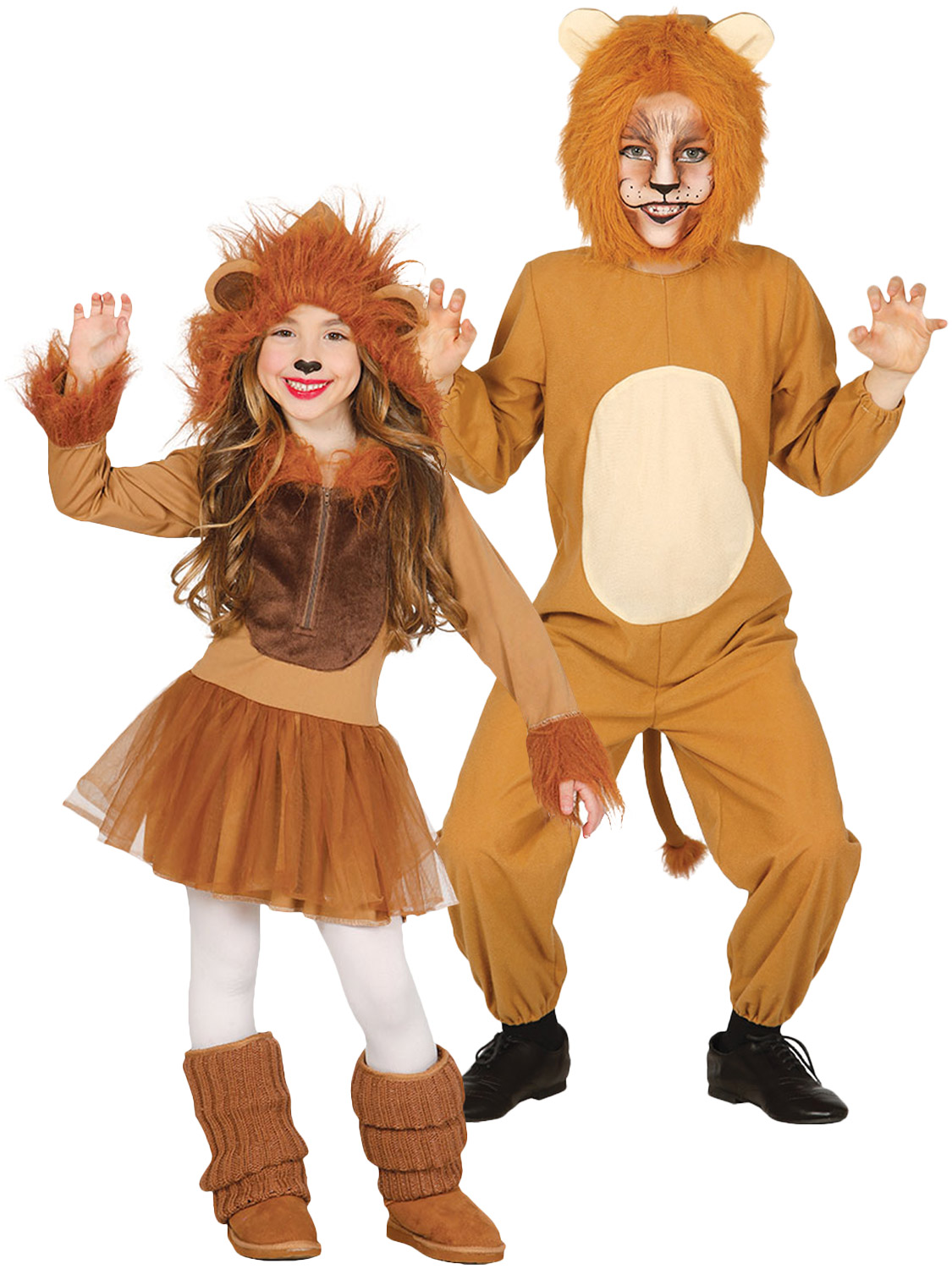 d43996b0a Details about Kids Lion Costume Boys Girls Zoo Animal Fancy Dress Jungle  Book Week Childrens
