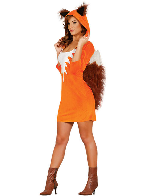 Ladies Foxy Costume