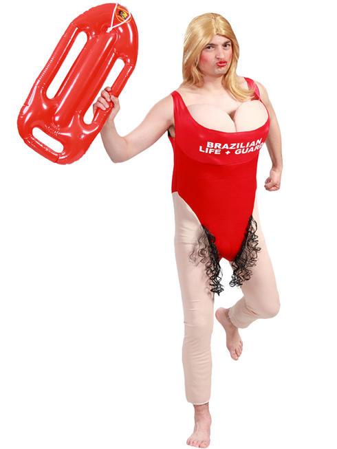 Men's Lifeguard Costume
