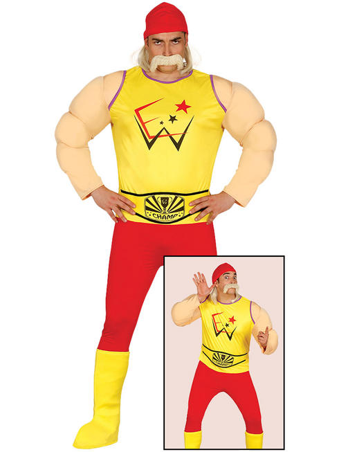 Men's Wrestler Costume