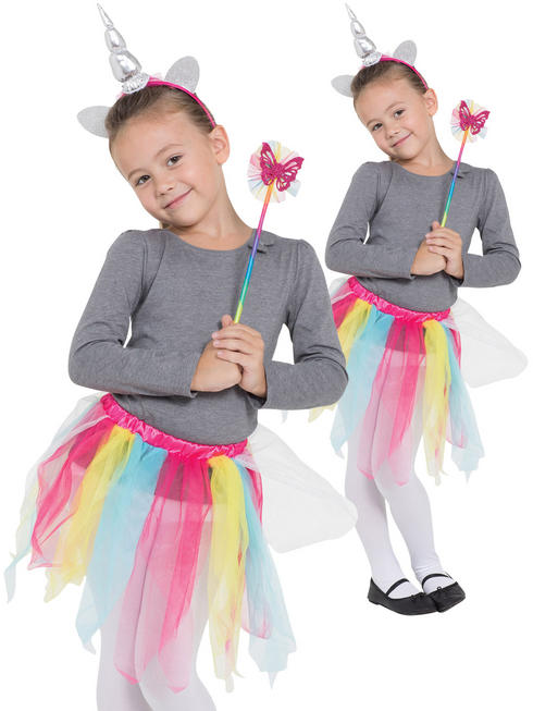 Child's Rainbow Unicorn Set