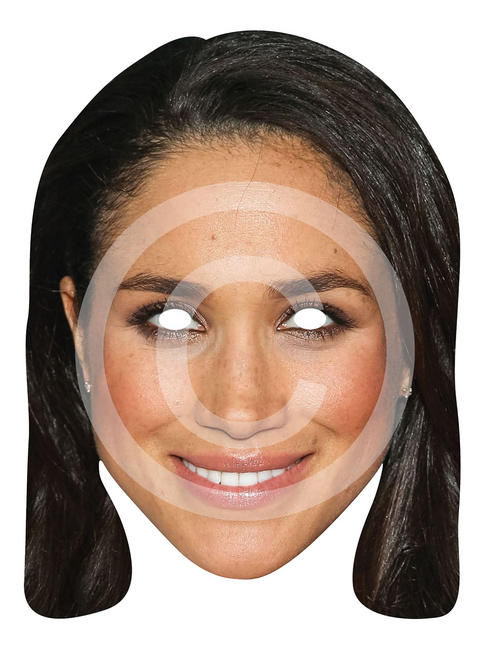 Adult's Meghan Markle Card Mask