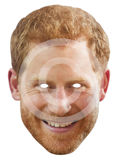 Adult's Prince Harry Card Mask