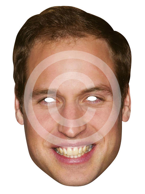 Adult's Prince William Card Mask