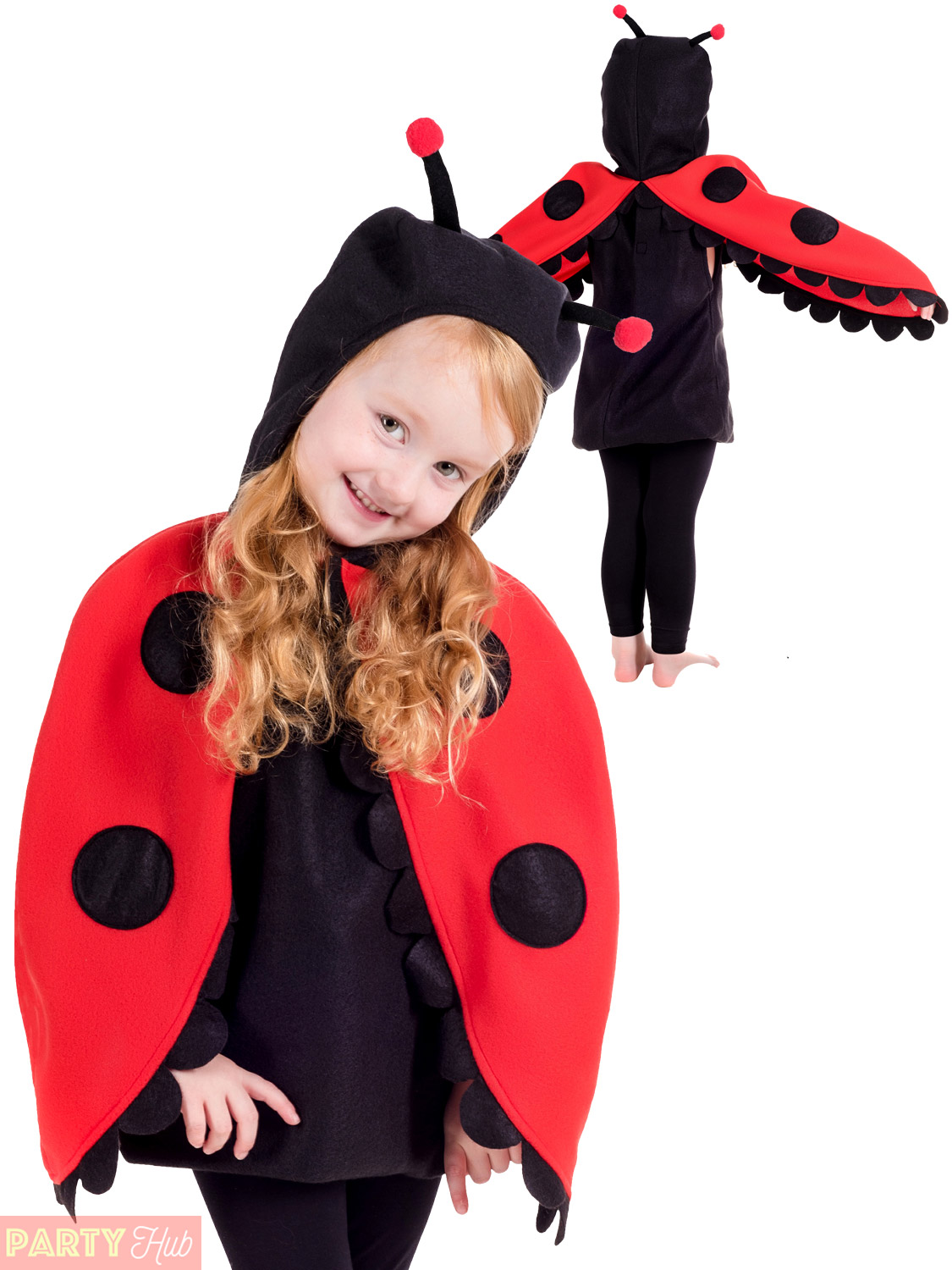 Childs-Toddler-Bumble-Bee-Lady-Bug-Costume-Kids-  sc 1 st  eBay & Childs Toddler Bumble Bee Lady Bug Costume Kids Insect Fancy Dress ...