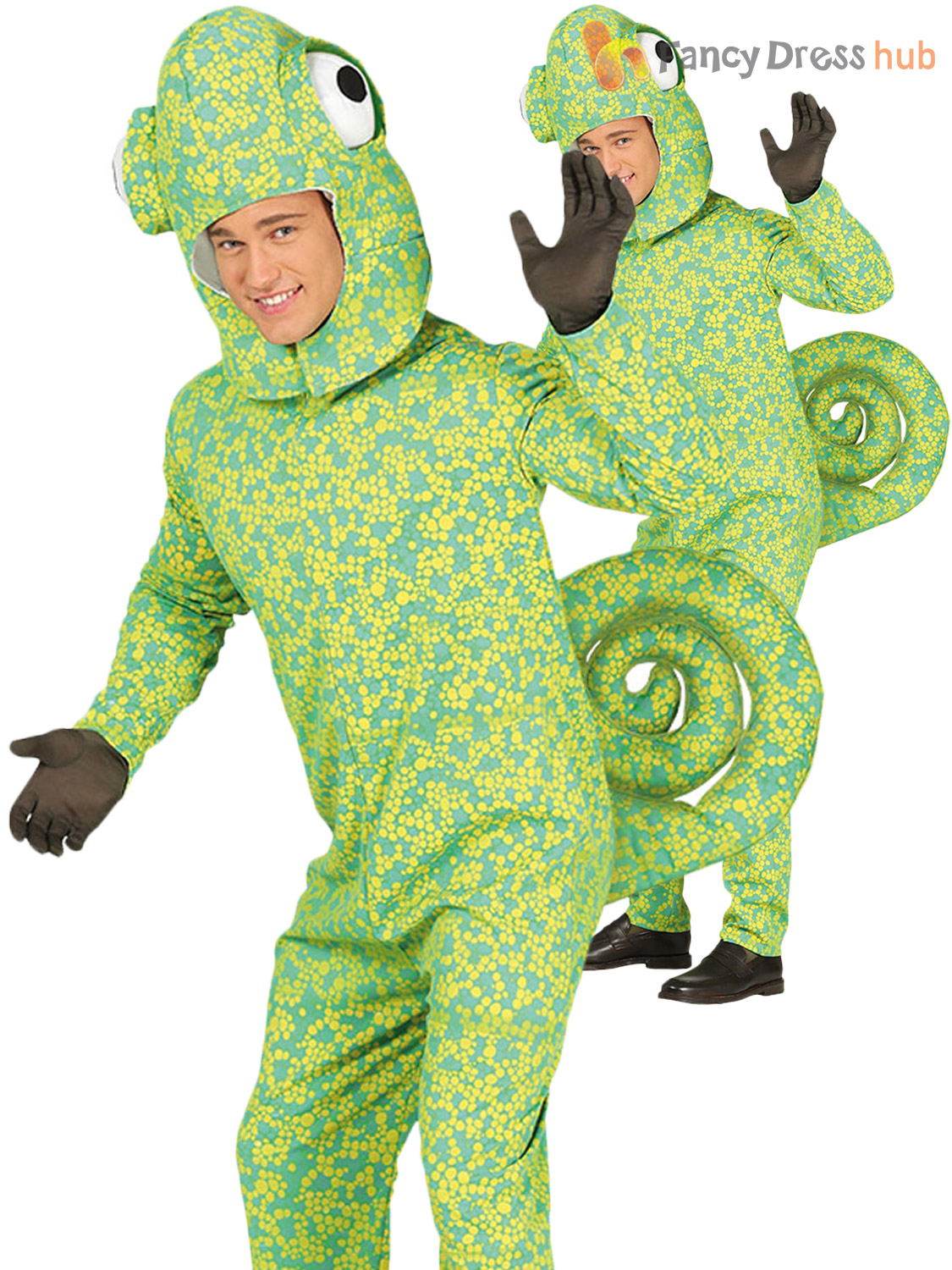 Adult-Animal-Costume-Mens-Ladies-Duck-Rabbit-Snail-