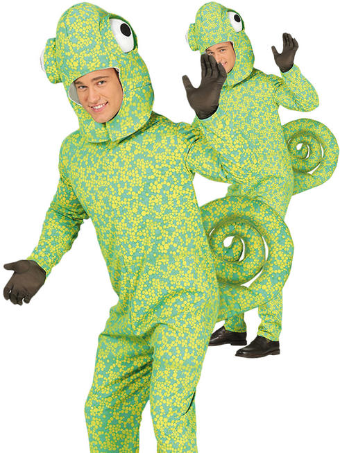 Adult's Novelty Chameleon Costume
