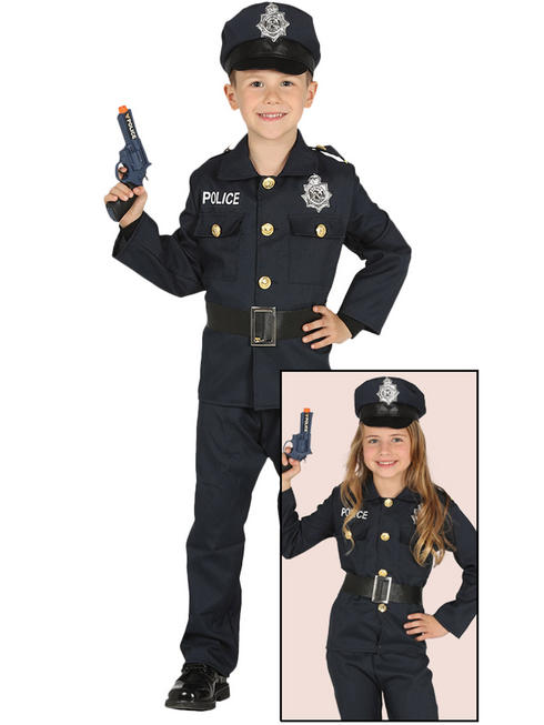 Child's Police Costume