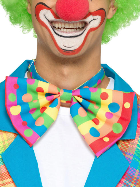 Adult's Clown Bow Tie