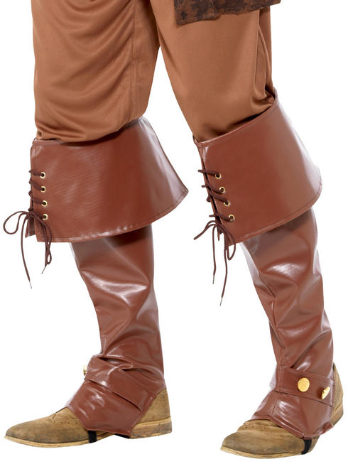 Deluxe Pirate Boot Covers