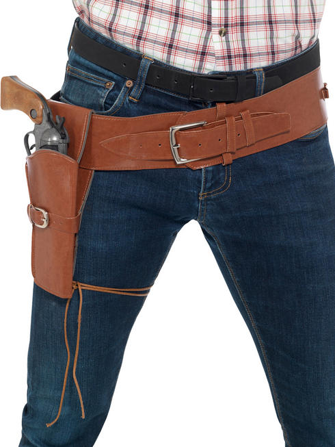 Brown Cowboy Belt
