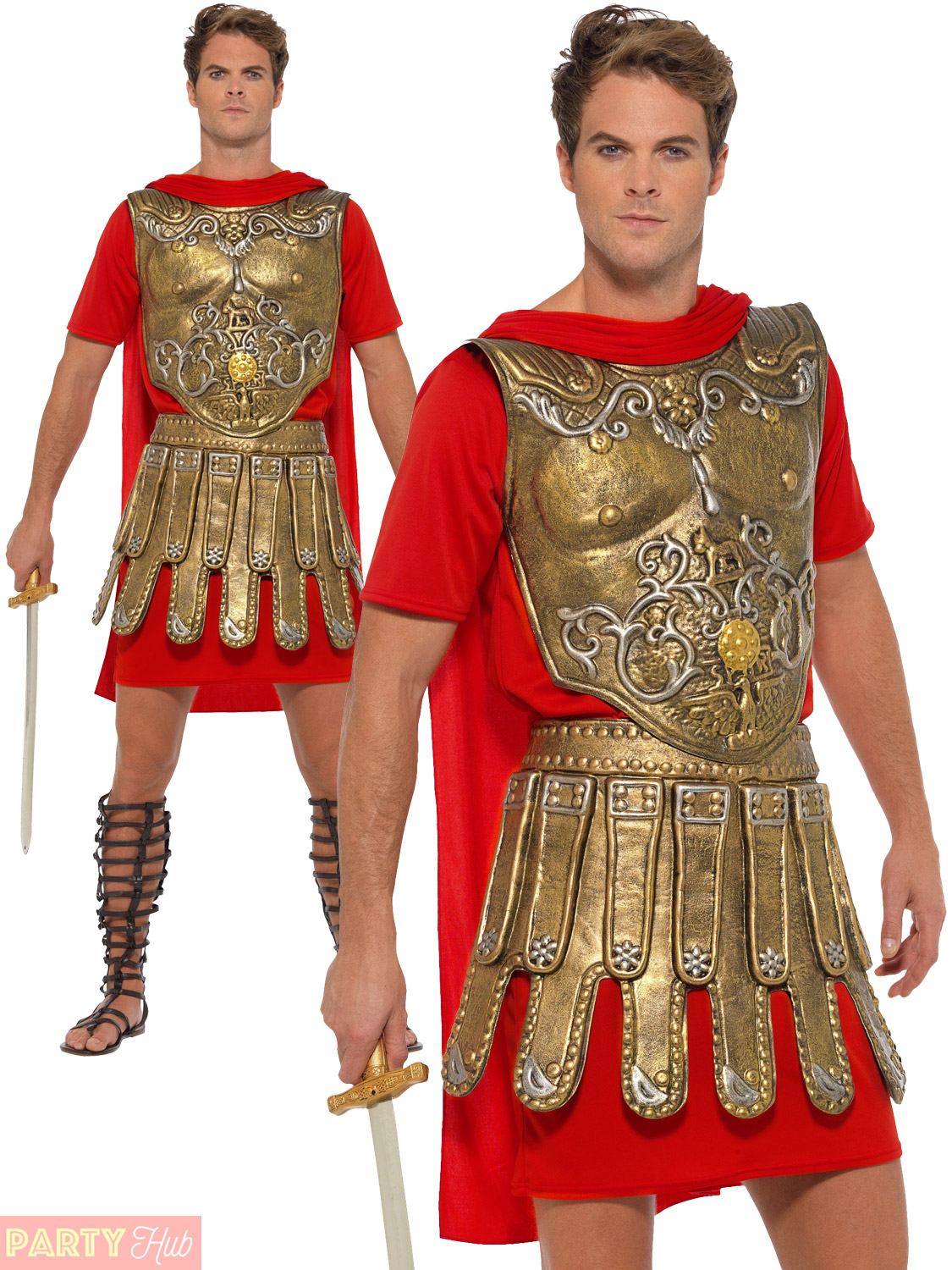 Mens-Roman-Gladiator-Costume-Adults-Soldier-Greek-Warrior-  sc 1 st  eBay & Mens Roman Gladiator Costume Adults Soldier Greek Warrior Fancy ...