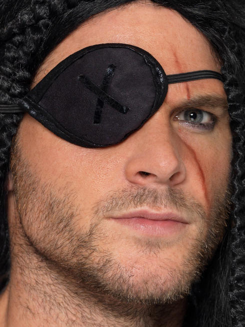 Black Pirate Eyepatch