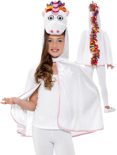 Girl's Unicorn Cape