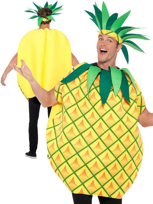 Adult's Pineapple Palm Tree Tabard Costume