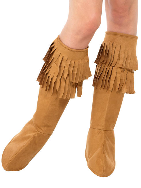 Ladies Hippie Fringe Boot Covers